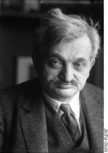 Dr. Emanuel Lascer, Ex-Schachweltmeister, Aufnahme am 19. März 1929