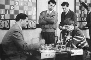 Albert-Jan Fischer moest weer eens tegen Paul Keres