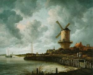 Ruisdael-Molen-bij-Wijk-bij-Duurstede