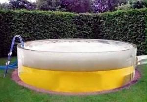 Voor sommigen het ideale zwembad.