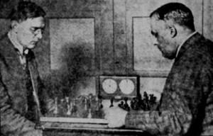 Euwe - Bogoljoebov in 1928