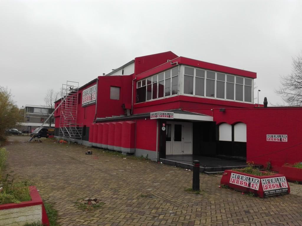 Het Ontspanningsgebouw in november 2015, foto: Alwin van Ee.