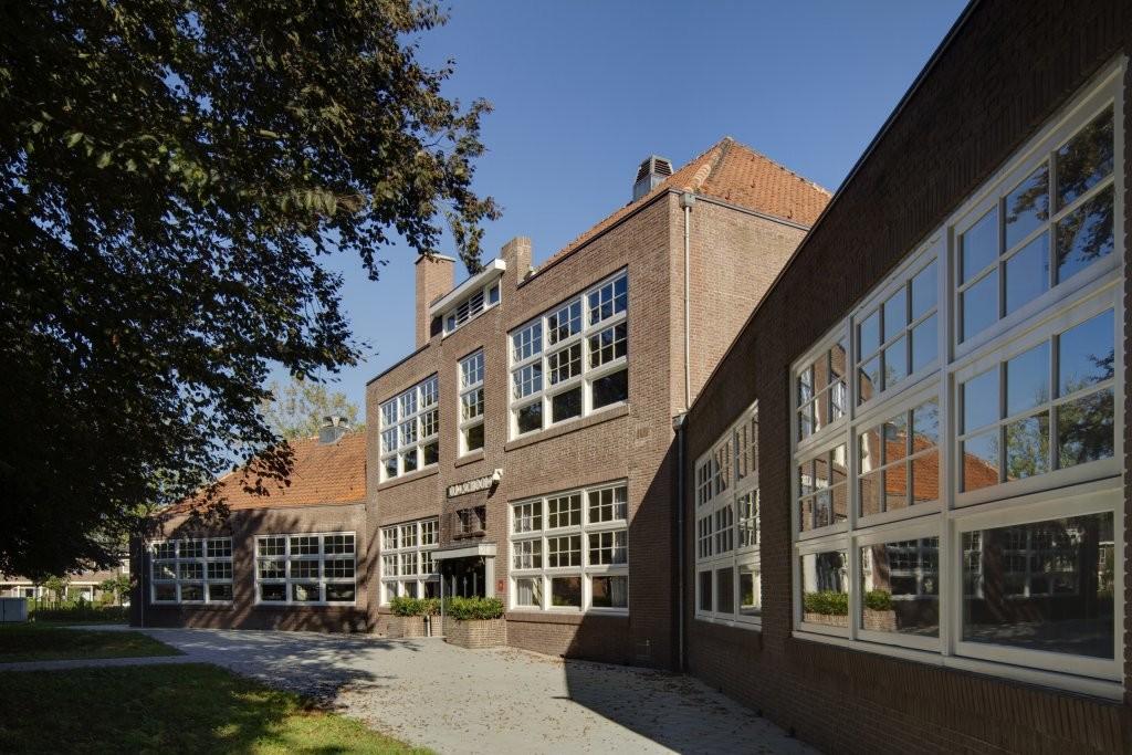 De voormalige Christinaschool, deel van Het Vorstelijk Complex