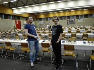 Bart en Sam vertegenwoordigen Jong Zuylen Utrecht