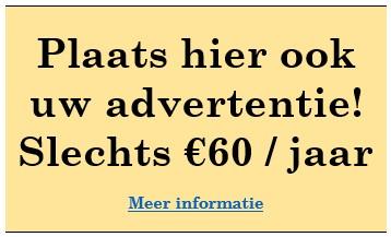 Plaats hier ook uw advertentie!